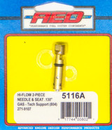 .130 Bottom Feed Hi-Flow Needle & Seat - Each