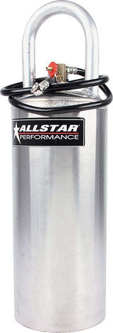 Aluminum Air Tank 7x24 Vertical 2-3/4 Gallon