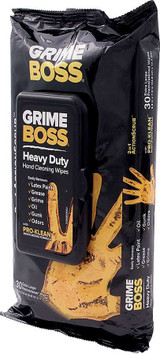 Cleaning Wipes 30pk Grime Boss