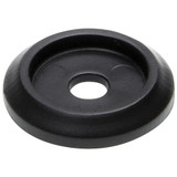 Body Bolt Washer Plastic Black 10pk