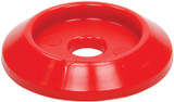 Body Bolt Washer Plastic Red 10pk