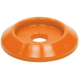 Body Bolt Washer Plastic Orange 50pk