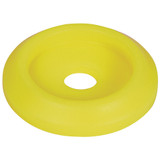 Body Bolt Washer Plastic Fluorescent Yellow 50pk