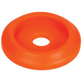 Body Bolt Washer Plastic Fluorescent Orange 10pk