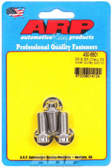 Chevy S/S Lower Pulley Bolt Kit