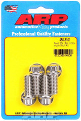 SBF S/S Motor Mount Bolt Kit - 12pt.
