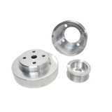 3pc. Aluminum Pulley Kit - 79-93 Mustang
