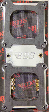 Dual Carb Adapter Polished 671/871
