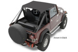 76-86 Jeep CJ7 Tan Traditional Bikini