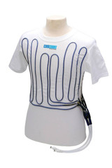 Cool Shirt Large  White Left Side Exit