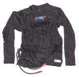 2 Cool Shirt Black Med SFI 3.3