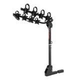 Extendable Hitch-Mounted Bike Rack 2 or 4 Bikes