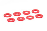 D-Ring Washers Red