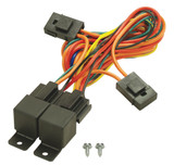 40/60 Amp Dual Relay w/Wiring Harness