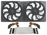 10in Dual High Output RAD Fans Puller