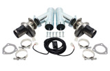 2.5in Exhaust Cutout Kit Electric (pair)