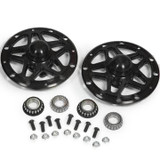 Black Widow Front Hub Set Mini Sprint