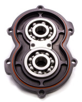 Billet Alum Rear Cover w/Bearings Black
