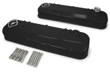Billet Alm Valley Plate LSX Block Black Anodized
