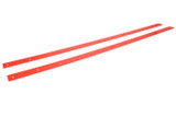 2019 LM Body Nose Wear Strips Flourescent Red
