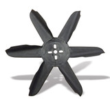 17in Molded Nylon Fan