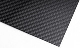 Real Carbon Fiber Sheet Gloss Finish 19.4in x 48