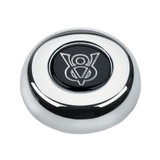 Chrome Button-Ford V-8