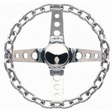 11in Chrome Chain Wheel