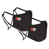 Face Cover Black 2 Pack
