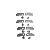 Stainless A/B Style Tabs