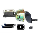 8in Brake Booster Zinc 1in Bore Master Cylinder