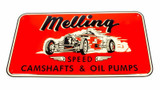 1950 Nostalgic Metal Sign - Red (Race Car)