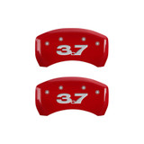 10-14 Mustang Base Caliper Covers Red