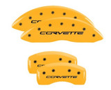 05-13 Corvette Caliper Covers Yellow