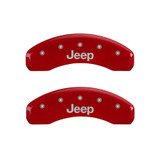 07-   Wrangler Caliper Covers Red