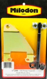 SBC Oil Pump Support Bracket