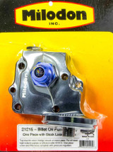 Billet Oil Pump Cover & Filter Boss - Wedge