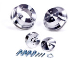 302-351 Ford 3pc Pulley Set