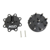 Distributor Cap - Ford HEI- Black