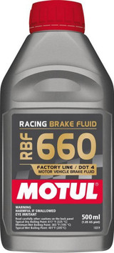 Brake Fluid 660 Degree 1/2 Liter