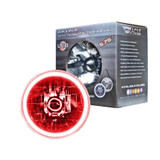5.75in Sealed Beam Red