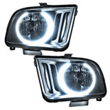 05-09 Mustang Headlight Pre-Assembled w/Halo
