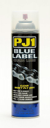 Blue Label Chain Lube for O Ring Chains 13oz
