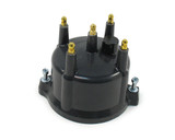 Distributor Cap - 4-Cyl. Billet Black