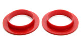 64-73 Mustang Front Sprg Isolators-Uppers