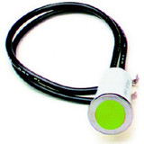 1/2in Green Dash Light