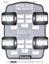 After Race Tire Set-Up Forms (50 PK)