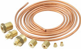 Copper 6ft Tubing Kit with Ferrules