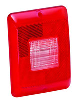 Replacement Part Vertica l Taillight Lens w/Clear