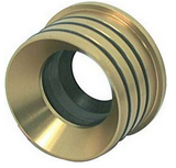 "INNER AXLE SEAL - GRAND NATIONAL 1/4"" WALL GOLD"